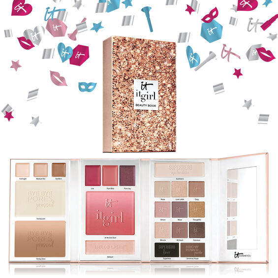 Special Edition IT Girl Holiday Beauty Book - Full Face Makeup Palette