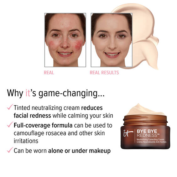 Bye Bye Redness™ Correcting Cream - Neutralizing Correcting Cream For Face