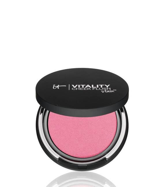 Vitality Cheek Flush Powder Blush Stain - Radiant in Rose Main