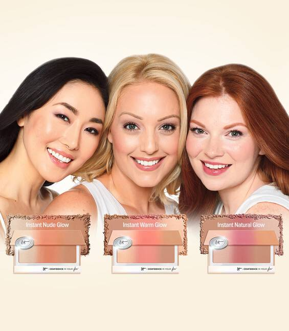 Gradiant Blush, Bronzer & Highlight Natural Glow