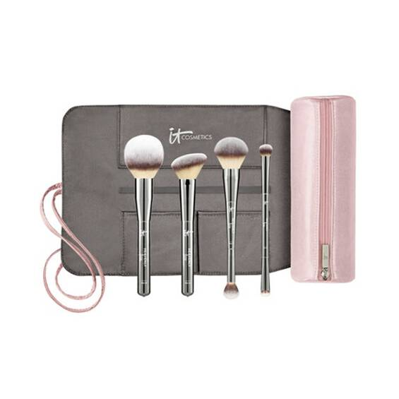 Heavenly Luxe™ Must-Haves! Brush Set & Makeup Bag