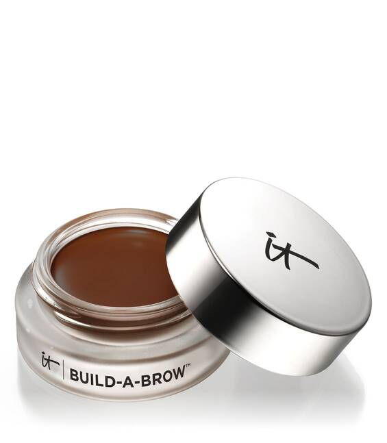 Waterproof 5-in-1 Cream-Gel Eyebrow Pomade Dark Brown Main Image