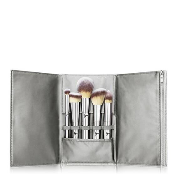 5-Piece Full-Size Brush Set + Luxe Travel Case
