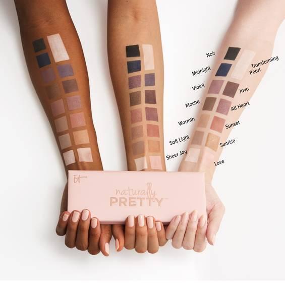 Naturally Pretty Vol. 1 Matte Luxe Transforming Eyeshadow Palette Main