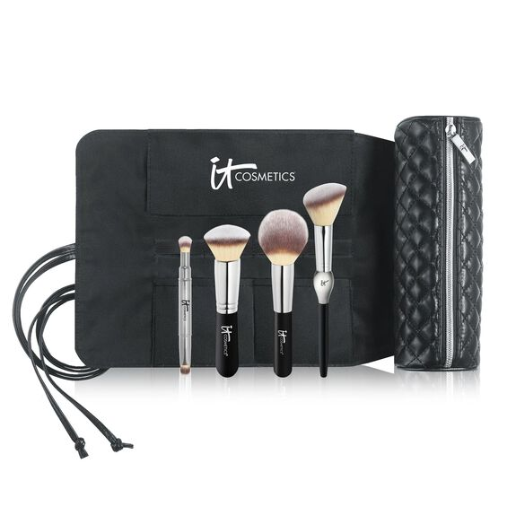Brush Roll Makeup Bag