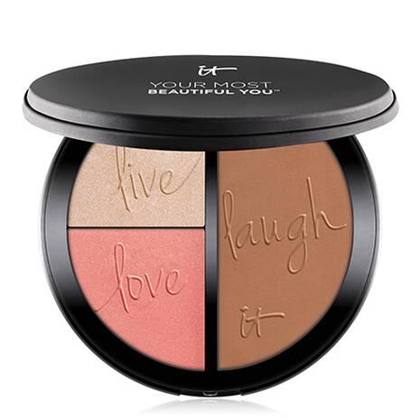 Your Most Beautiful You™ Palette Blush Illuminateur, Embellisseur Eclat et Poudre Bronzante Mate Anti-Age