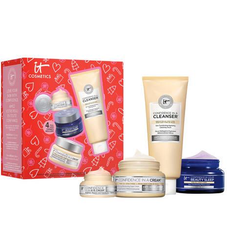 IT's Your Confidence Anti-Aging Moisturizing Skincare Set ($221 Value)