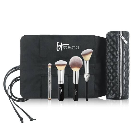 Brush Roll Makeup Bag