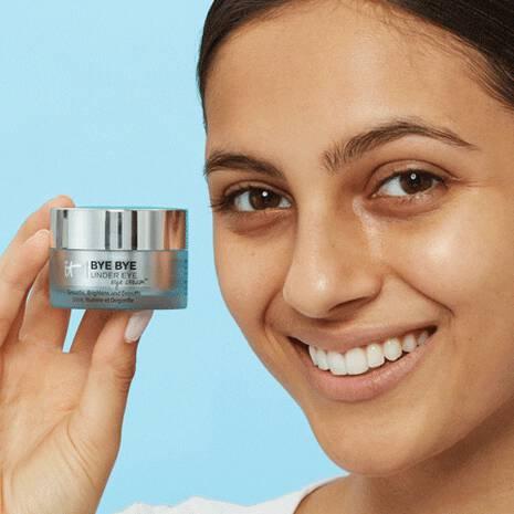 Heavenly Skin 2-in-1 Tap & Smooth Eye Cream Brush #706