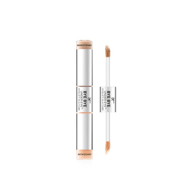 Dual Ended Full Coverage Anti-Aging Concealer & Brightener - Tan