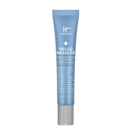 Hello Results Wrinkle-Reducing Daily Retinol Serum-in-Cream
