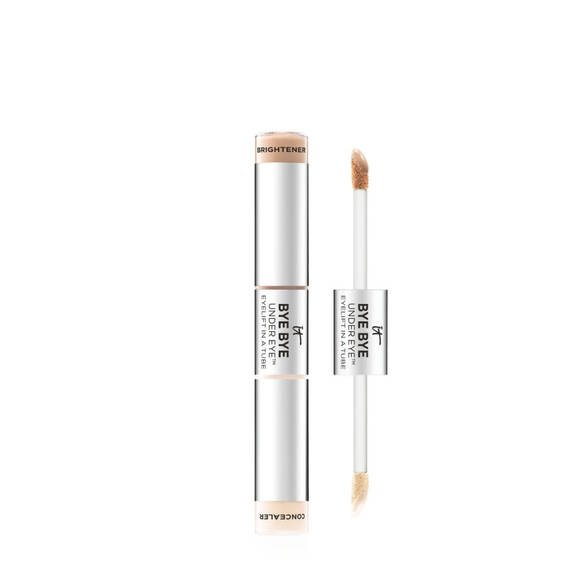 Dual Ended Full Coverage Anti-Aging Concealer & Brightener - Fair