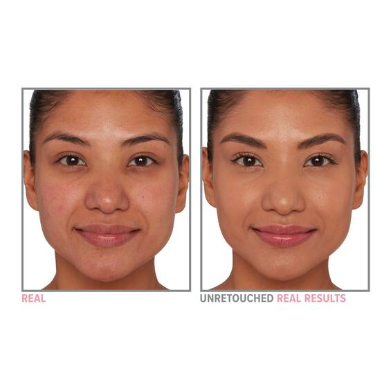 Your Skin But Better Foundation Skincare before and after 42 Tan Neutral