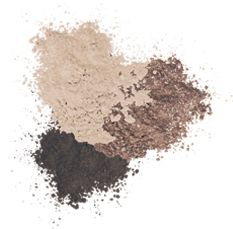 Natural Makeup Eyeshadows in Smoke